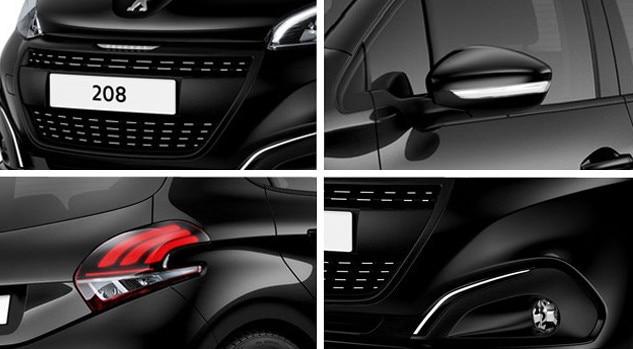 Peugeot 208 Black Edition features