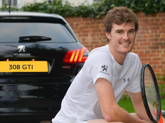 peugeot tennis partnership jamie murray
