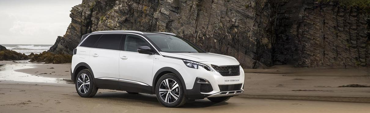 All-new 5008 SUV safety UK