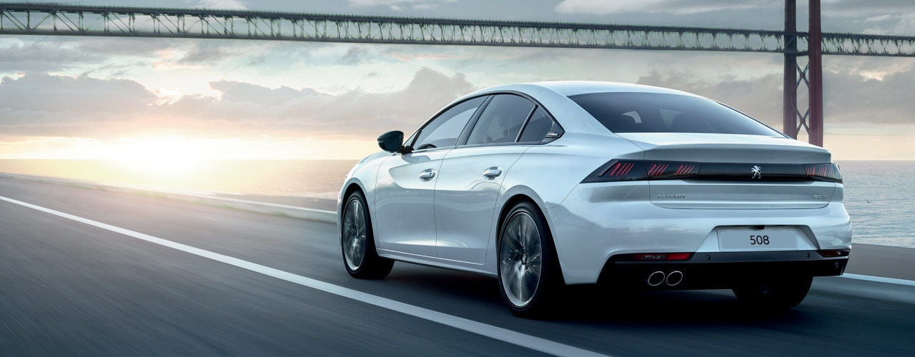 All-new PEUGEOT 508 - White