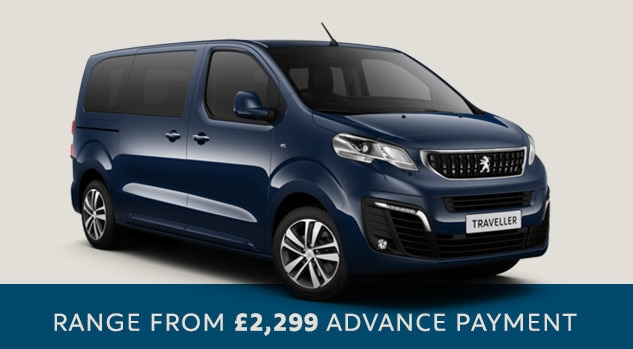Traveller- Peugeot 7 seater - Motability offer