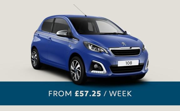 Peugeot 108 Collection - semi-automatic small city car - Motability offer