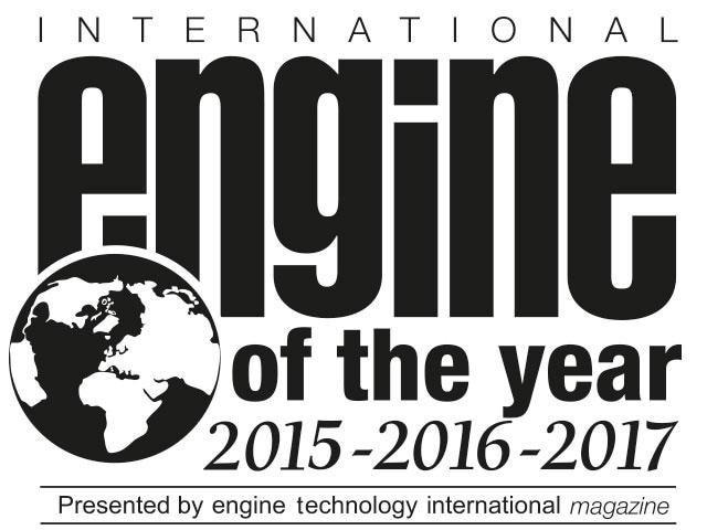 International Engine of the Year Logo 2017