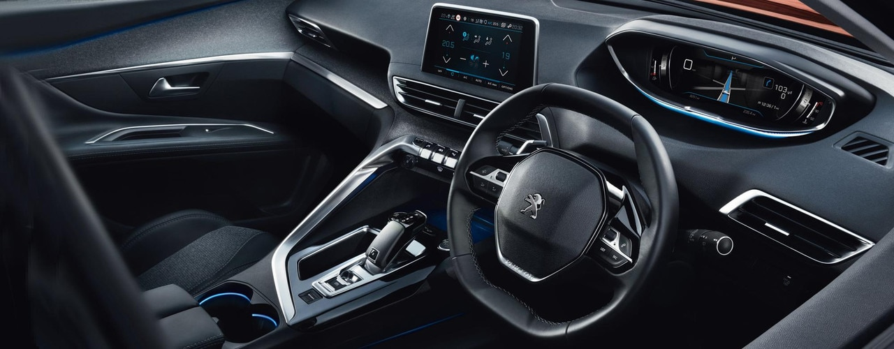 All new peugeot 3008 suv peugeot uk for Peugeot 3008 interior