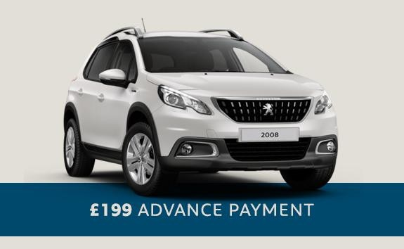 Peugeot 2008 SUV - automatic SUV - Motability offers
