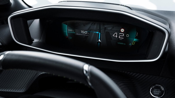 NEW PEUGEOT 208 – 3D Digital instrument panel