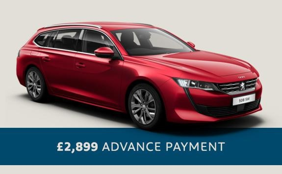 All-new Peugeot 508 SW - automatic saloon - Motability offers