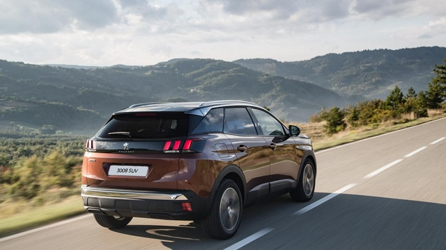 Peugeot all-new 3008 SUV exterior rear