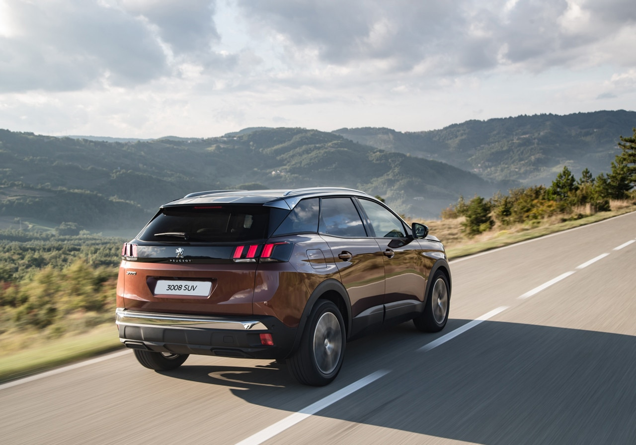 Car With Road >> Peugeot 3008 SUV | Peugeot UK