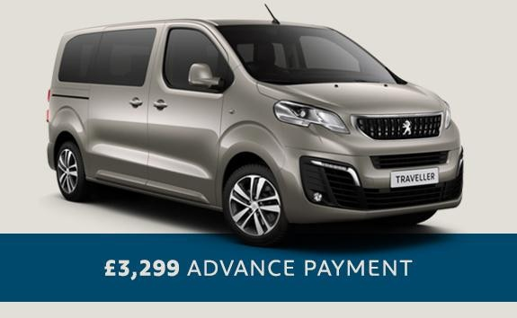 Peugeot Traveller - automatic 7 seater - Motability offers