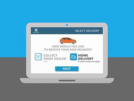 Peugeot Order Online Choose your Delivery