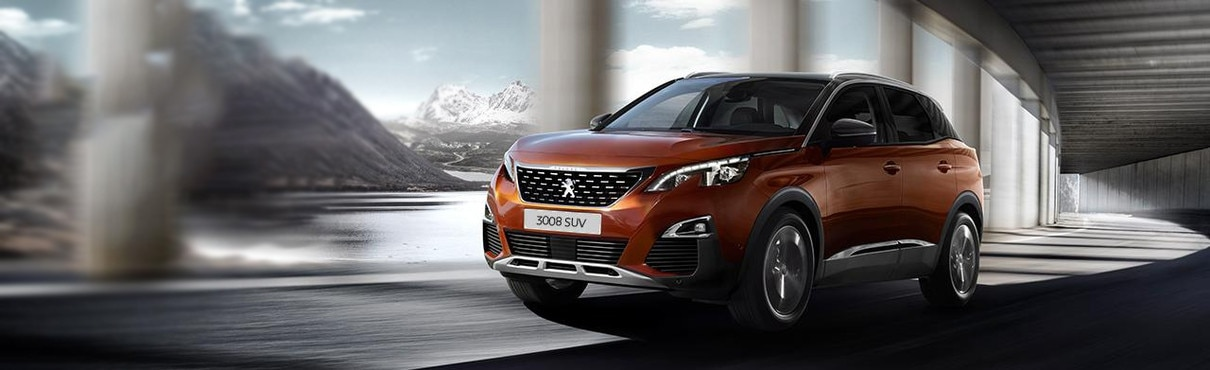 Peugeot 3008 SUV Gold Award