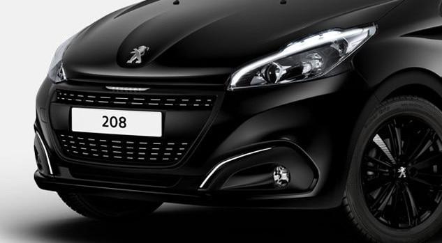 Peugeot 208 Black Edition grille