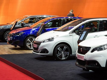 Peugeot at the geneva motor show