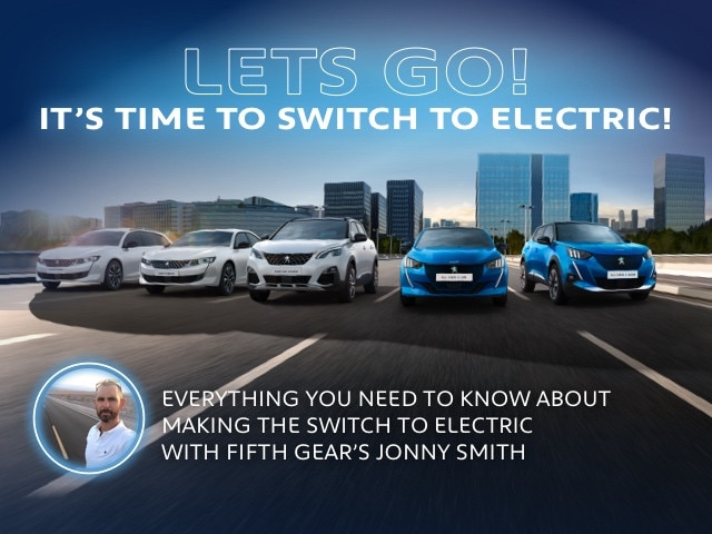 Peugeot Lets Go Electric