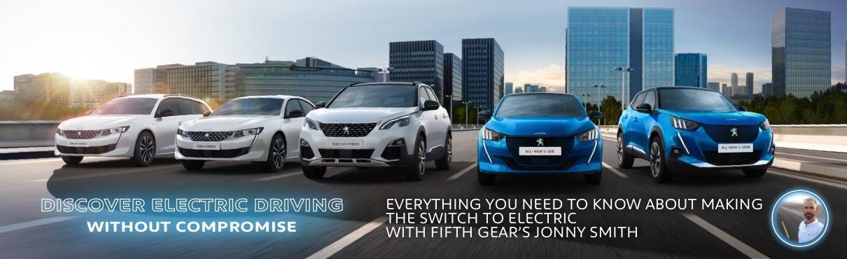 Peugeot Lets Go Electric