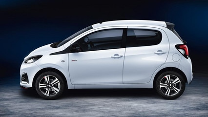 Peugeot 108 GT Line side view