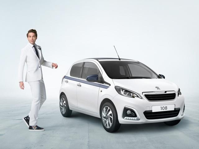 Peugeot 108 Collection white