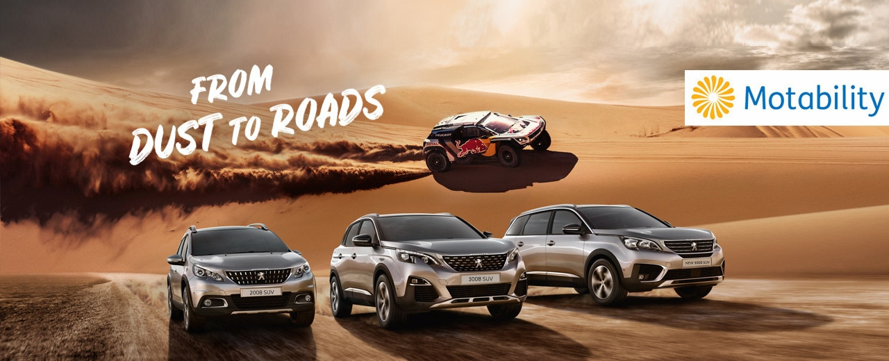 From Dust to Road SUV Campaign Motability