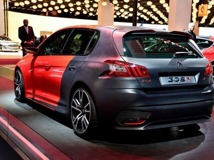 Peugeot 308 R concept at Paris Motor Show