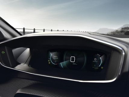 NEW PEUGEOT e-208 – 3D Digital instrument panel