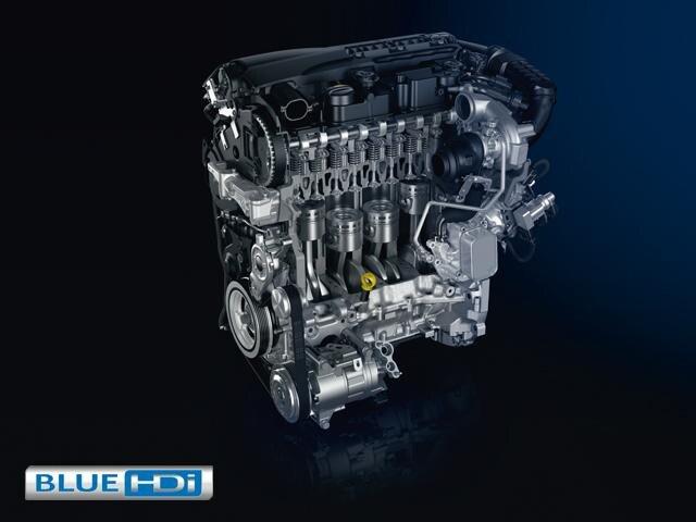 Peugeot 208 blue hdi engine
