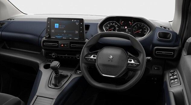 Peugeot Rifter Allure Interior - Motability