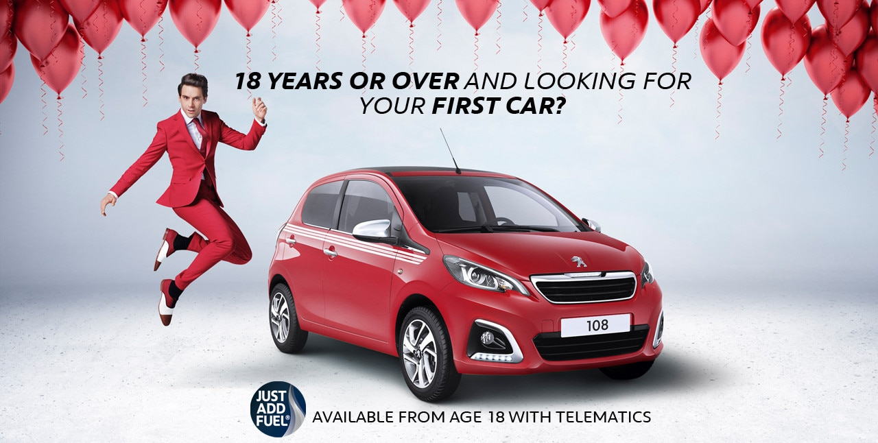 Your First Car Just Add Fuel 174 With Telematics Peugeot Uk