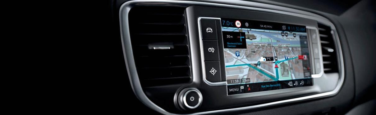Peugeot Connect satellite navigation