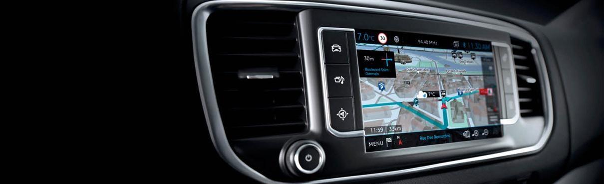 Peugeot Connect satellite navigation