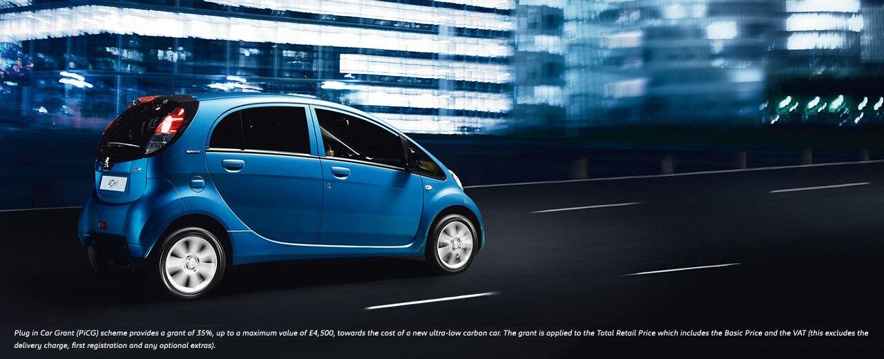 Peugeot iOn Electric Car