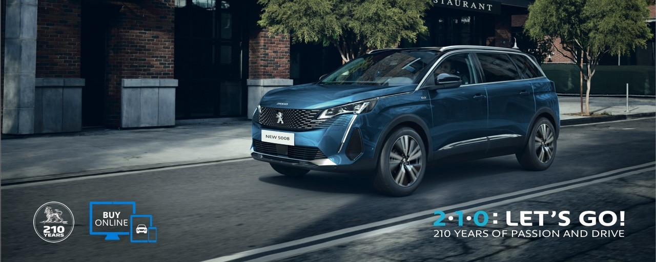 New Peugeot 5008 with 7 seats