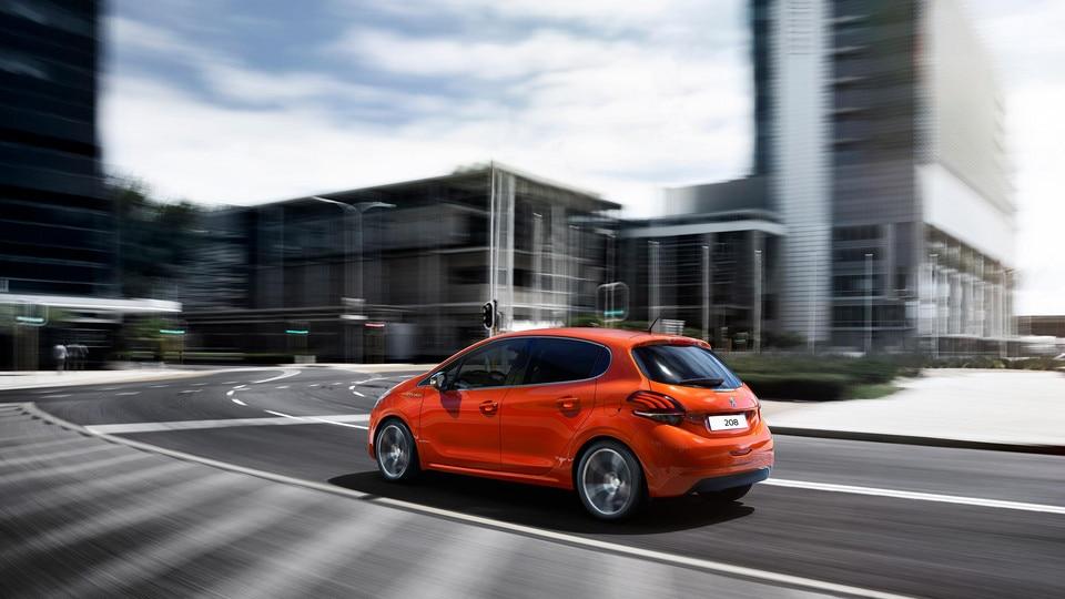 Peugeot 208 Rear View