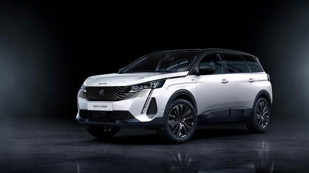 "New PEUGEOT 5008: ""Black Pack"" option"