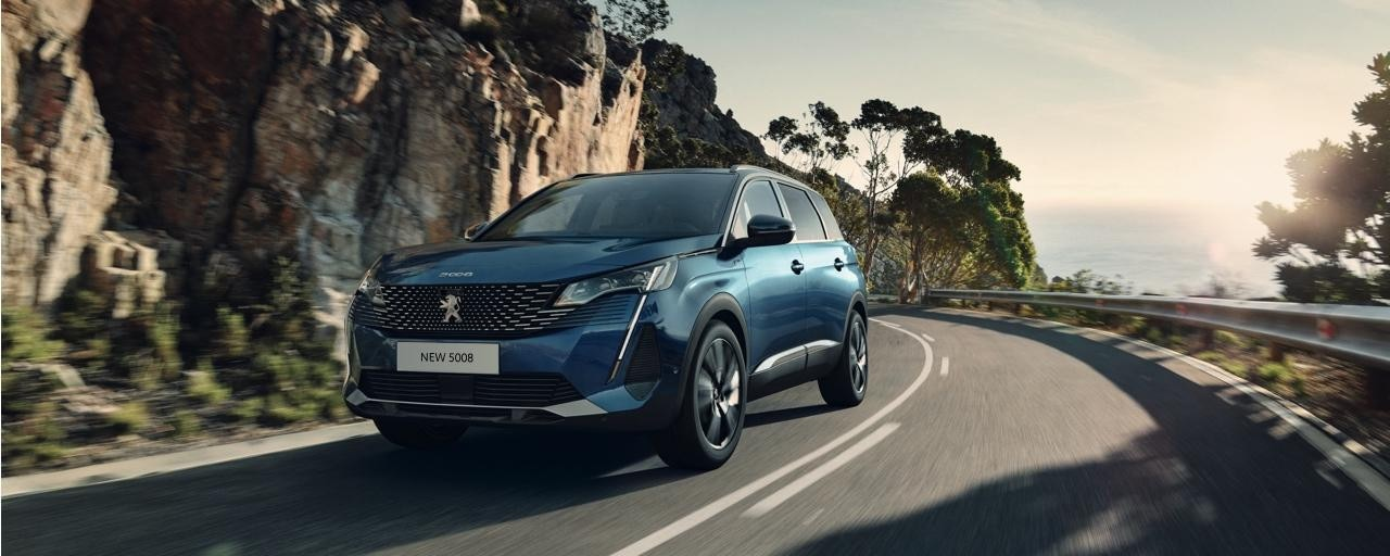 New large Peugeot 5008 with 7 seats