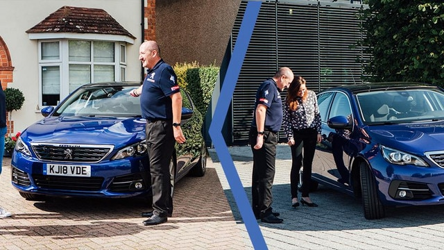 Experience a Peugeot 308