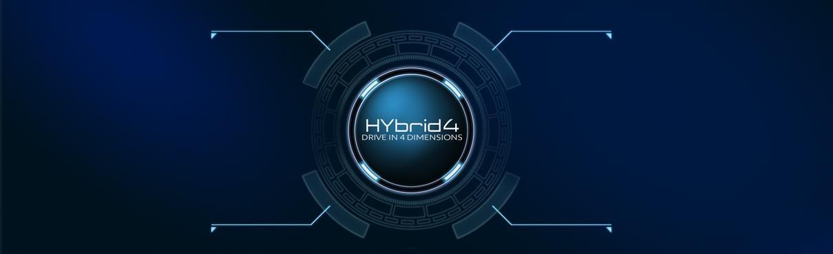 Peugeot hybrid4 logo