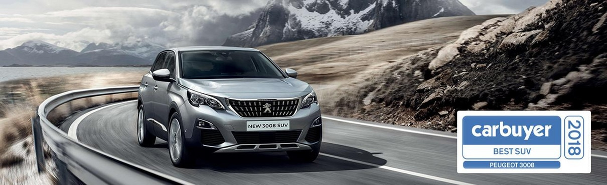 Peugeot 3008 SUV Carbuyer Best SUV 2018