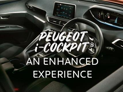 Peugeot icockpit 3008 SUV UK discover