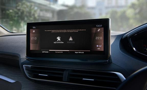 New PEUGEOT 5008: Modernised Peugeot i-Cockpit® with new capacitive touchscreen
