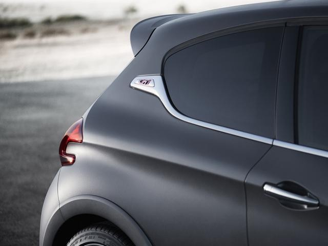 Peugeot 208 GTi textured paintwork