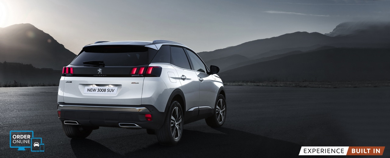 new 3008 suv gt line exterior boot