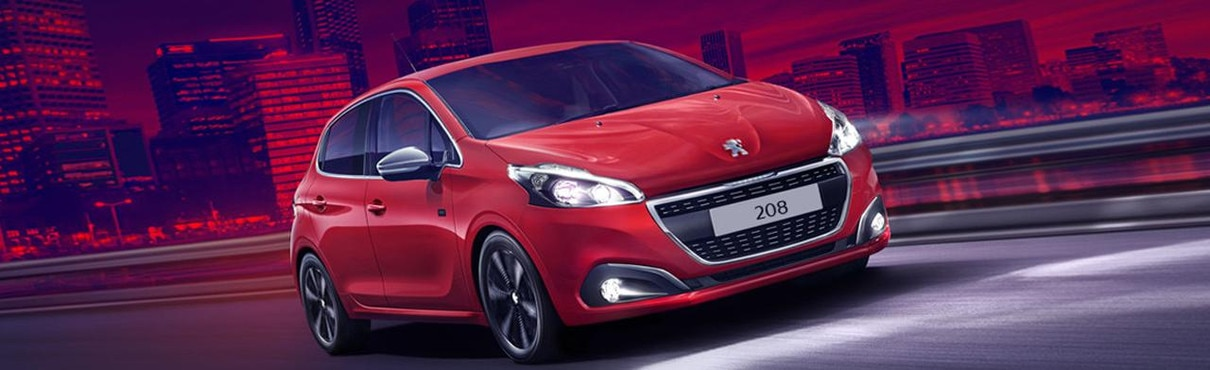 Peugeot City Cars Model Range