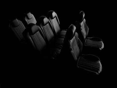 New 5008 SUV interior seats