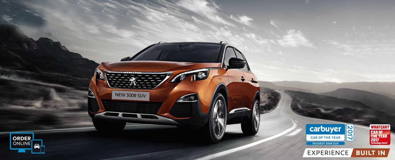 new 3008 suv exterior design