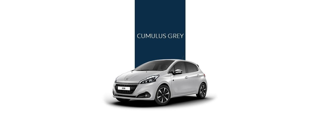 Peugeot 208 - Cumulus Grey Color