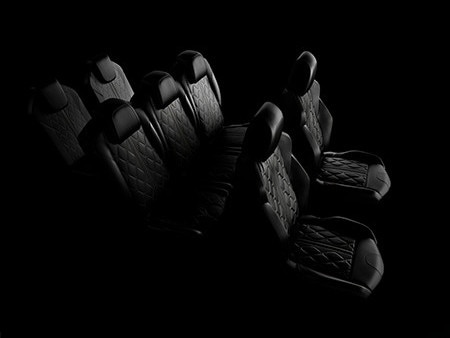 New 5008 SUV GT interior seats