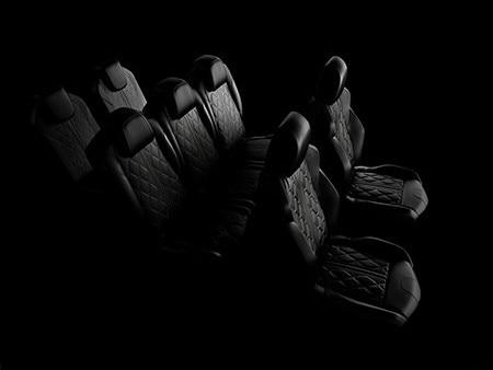 Peugeot 5008 SUV GT interior seats