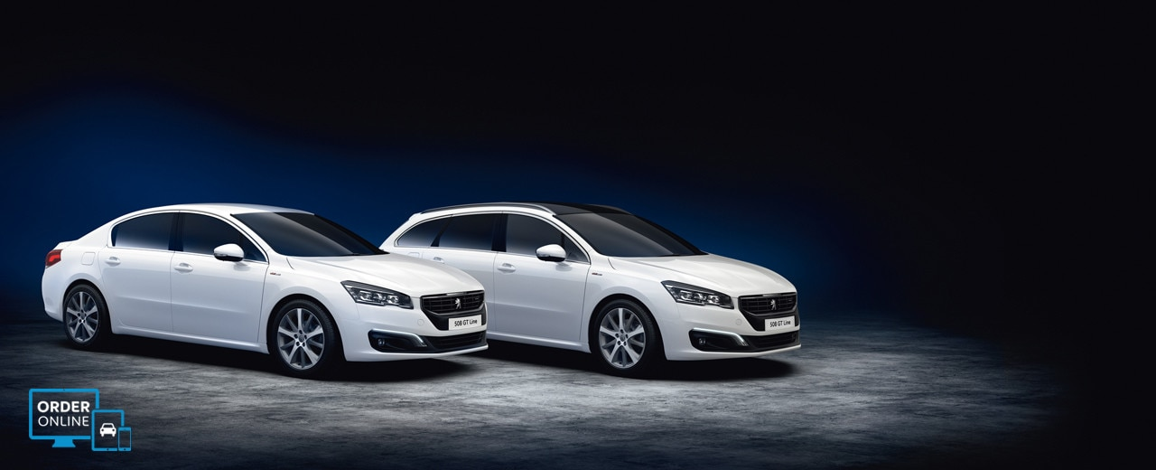 Peugeot 508 Saloon and SW GT Line