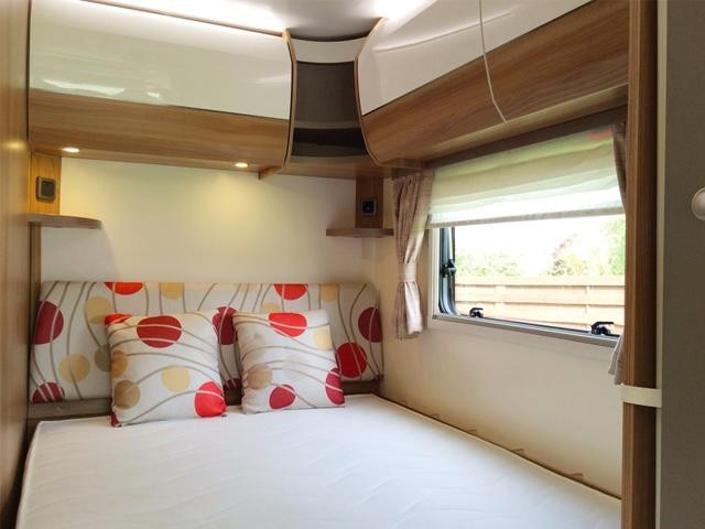 Peugeot Motorhome bedroom